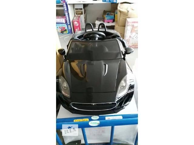 бу Детская машина на аккумуляторе DMD 218 RS-2 JAGUAR (цвет чёрный) Авто краска в Львове