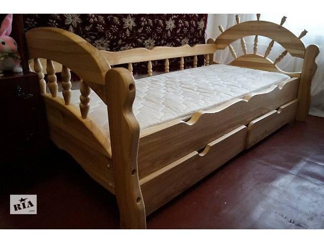 бу Детская кровать с дерева ясеня - Бриз! в Киеве