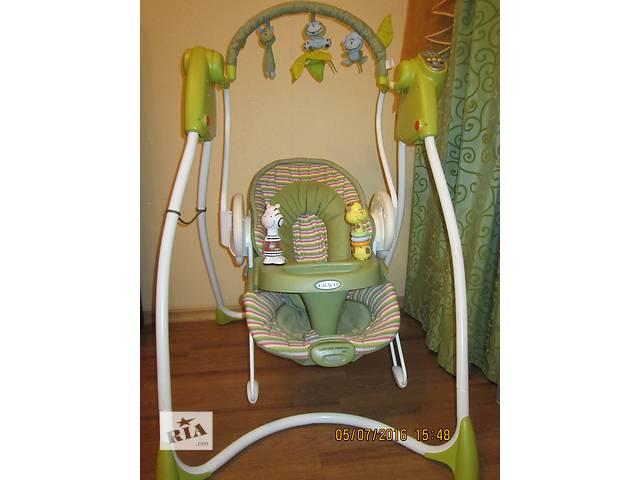 бу Детское кресло-электрокачеля 2 в 1 Graco Swing''''n''''Bounce в Николаеве