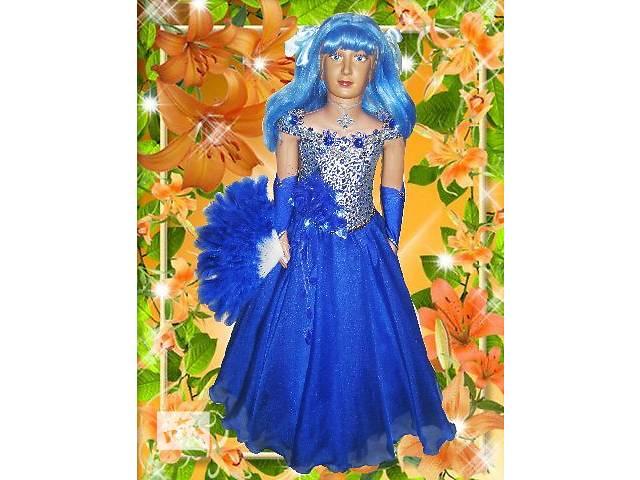 купить бу Детское платье на прокат синее. в Николаеве