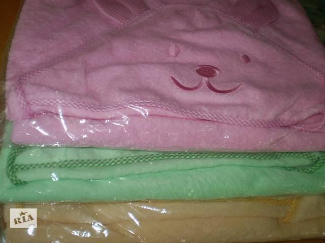 купить бу Детские полотенца с уголком(капюшоном).  в Одессе