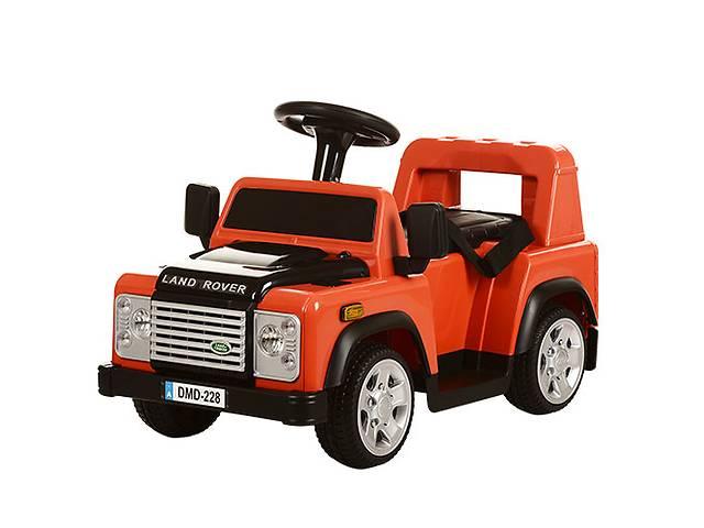 Детский электромобиль land rover m 3163 br-7: 2.4g, 20w, 6v - оранж- объявление о продаже  в Киеве