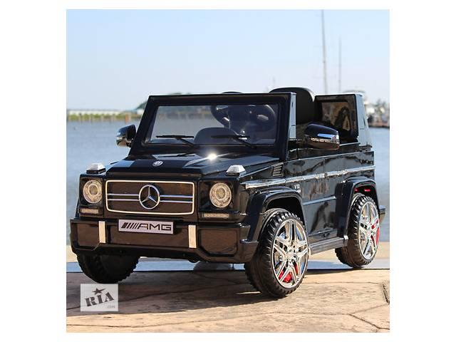 продам Детский электромобиль Mercedes G65: M 3120 EBLRS-2 - BLACK бу в Львове