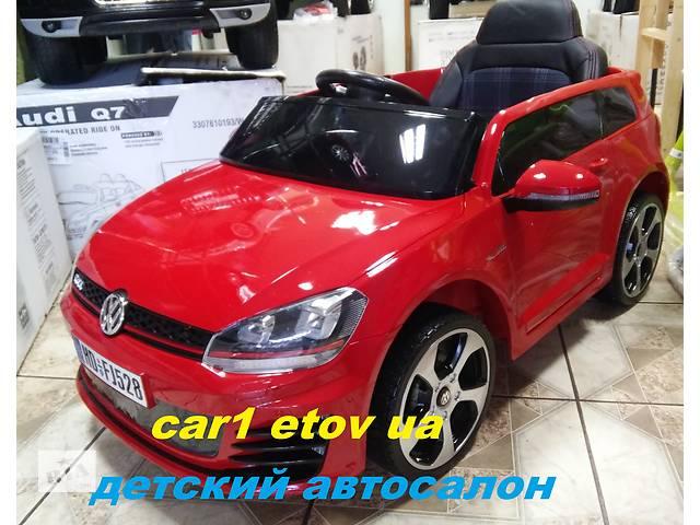 продам Детский электромобиль VIP Volkswagen 528 Golf лак бу в Львове