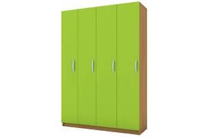 Детский шкаф для одежды 4 секции Амик