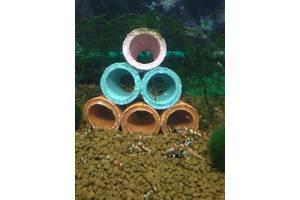 Домики из керамики для креветки , маленьких раков, различных мальков рыбок