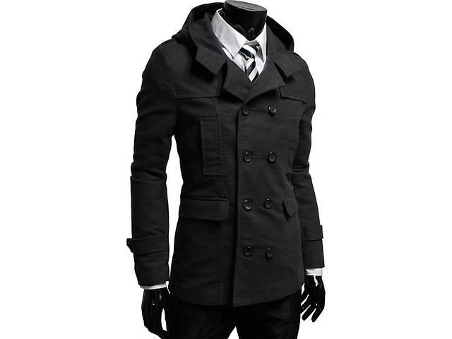 бу Двубортное пальто с капюшоном  в Черкассах