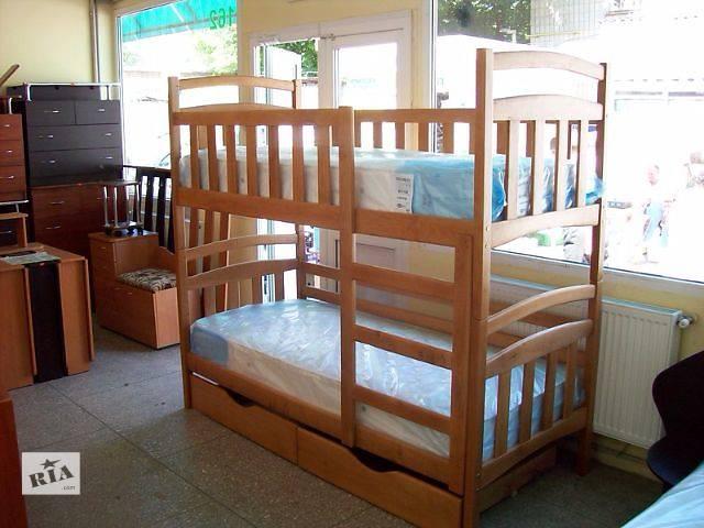 продам Двухъярусная кровать-трансформер Карина New Полулюкс с тремя съемными бортами бу в Днепре (Днепропетровск)