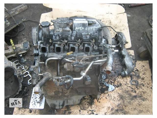 купить бу Двигатель Toyota Avensis 2.0 TD в Ужгороде