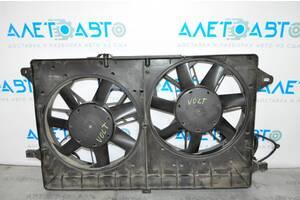 Диффузор кожух радиатора в сборе с вентиляторами Chevrolet Volt 11-15 23204068 разборка Алето Авто запчасти Шевроле Вол