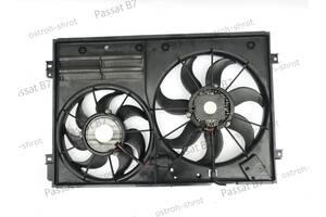 Диффузор радиатора с вентилятором 2.0 TDI 1k0121223 VW Volkswagen Passat B7 с 2010 по 2015