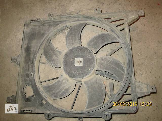бу Дифузор радиатора с мотором и вентилятором Renault Kangoo 2002 1.5 DCI в Николаеве