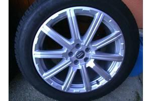 Новые диски с шинами Audi Q7