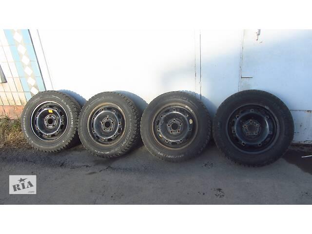 купить бу Диски с зимней резиной 185/65/R14 VW Skoda Seat комплект в Шепетовке