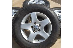 Диски + шини VW orig R17 5x130 Р17 Touareg Porsche Volkswagen Таурег