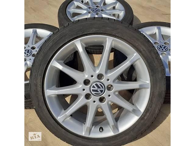 купить бу Диски VW R17 5x112 Passat Golf Jetta Touran Skoda Octavia Superb Seat в Львове
