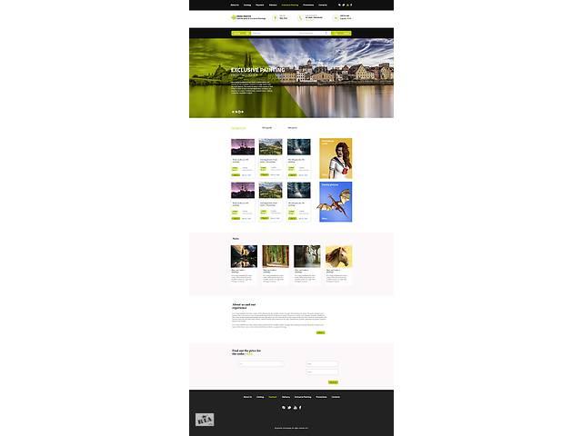 продам Дизайн сайтов и логотипов бу  в Украине