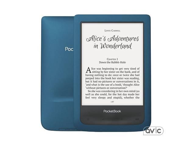 продам Электронная книга PocketBook 641 Aqua 2 Blue Black (PB641-A-CIS) бу в Харькове