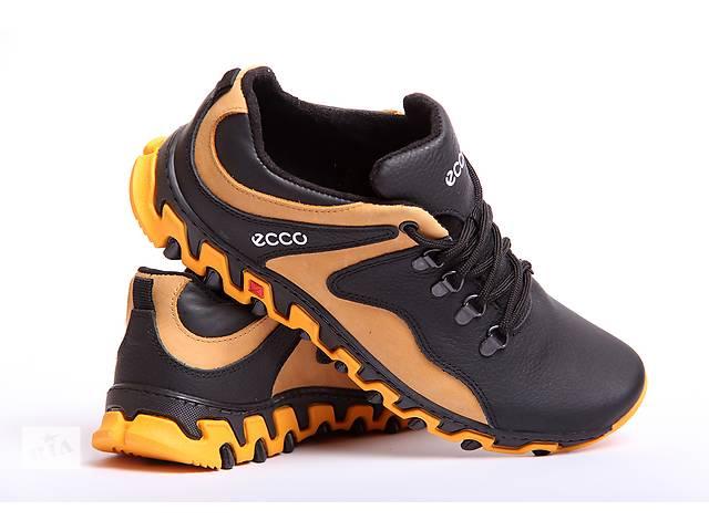 ECCO Track - кожаные мужские кроссовки- объявление о продаже  в Вознесенске