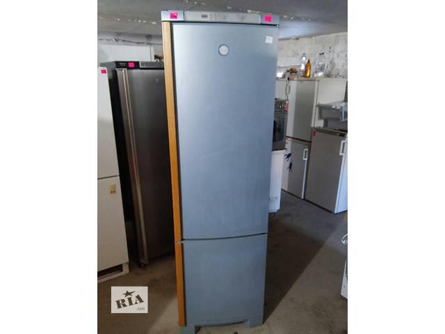 продам Эксклюзивный холодильник Electrolux металлик сдеревянными ручк 200 см бу в Луцке