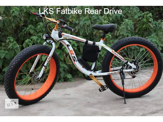 продам Электровелосипед LKS Fatbike (Фэтбайк) Electro Rear Drive (В наличии!) бу в Киеве