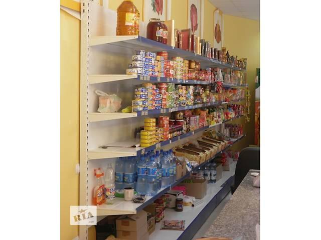 купить бу Стеллажи торговые металлические в Одессе