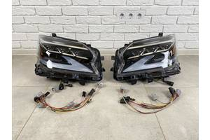 Фары Full Led Lexus GX 460 рестайлинг 2020+ 2шт. лексус