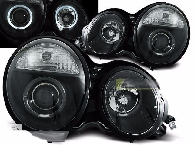 купить бу Фары передние тюнинг оптика Mercedes W210 (LPME30) Мерседес 210 в Луцке
