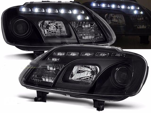 купить бу Фары тюнинг оптика VW Touran Тоуран Caddy Кадди (LPVWC4) Фольксваген в Луцке