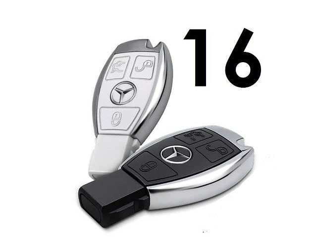 купить бу Флешка ключ Mercedes USB 16GB, 2 цвета в Надворной