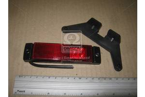 Фонарь габаритный 24V LED красный (3 диода) (TEMPEST)