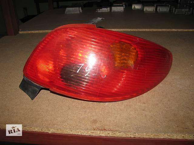 фонарь задний для хэтчбека Peugeot 206 2003-09- объявление о продаже  в Львове