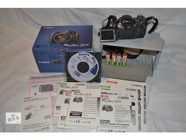 Фотоаппарат Canon S3 IS - объявление о продаже  в Новой Каховке