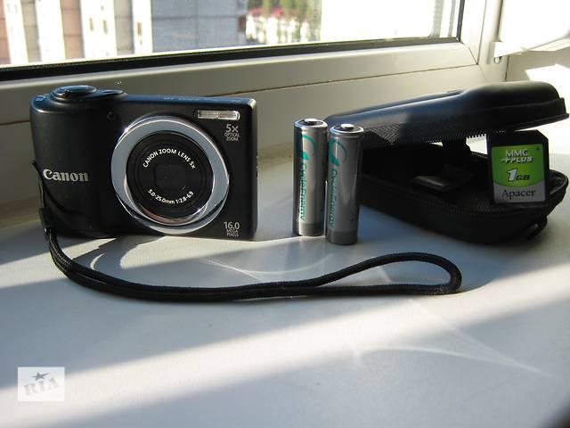 бу Фотоаппарат (фотокамера) Canon PowerShot A810, б/у, в идеальном состоянии. в Киеве
