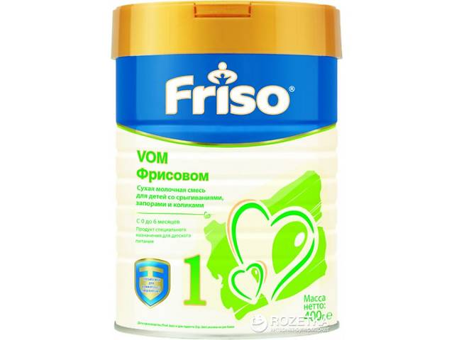 Friso Сухая молочная смесь Фрисовом 1, 400 г