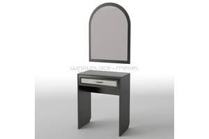 Будуарный туалетный столик трюмо стол в спальню Тиса / Tisa БС-29 (АКМ) из ДСП