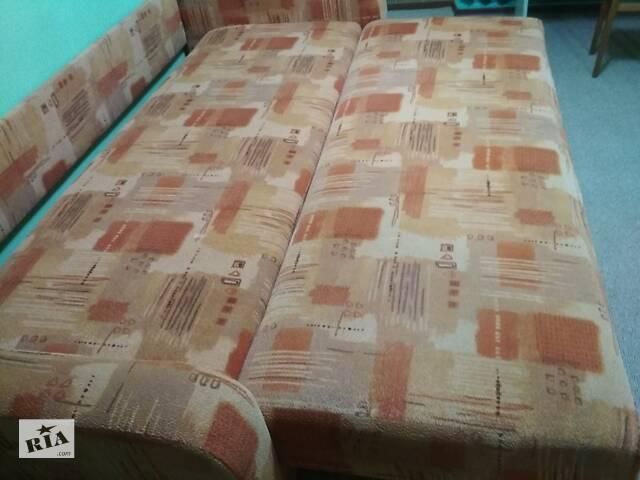 купить бу диван-кровать розкладная прочная- 80 на 190см внутри и таких 2 части в Вінниці