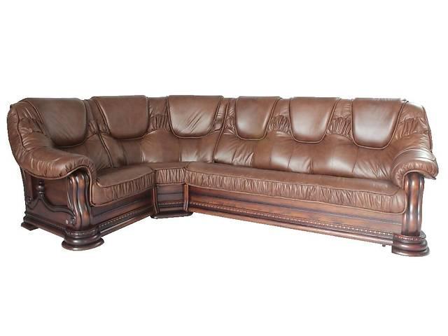 Класичний шкіряний диван Грізлі (гарантія на каркас 5 років!)- объявление о продаже  в Києві