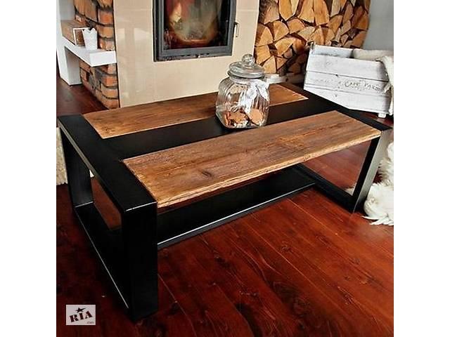 продам Кофейный Журнальный столик в стиле LOFT (NS-963247364) бу в Киеве