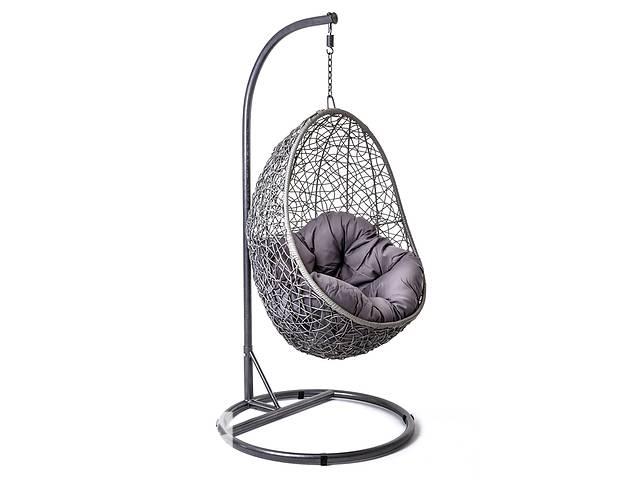Подвесное кресло кокон BACOLI, садовые качели - корзина ротанг- объявление о продаже  в Львове
