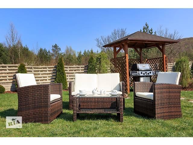 Садовая мебель диван кресла ротанг casella brown. Нет в наличии.- объявление о продаже  в Львове