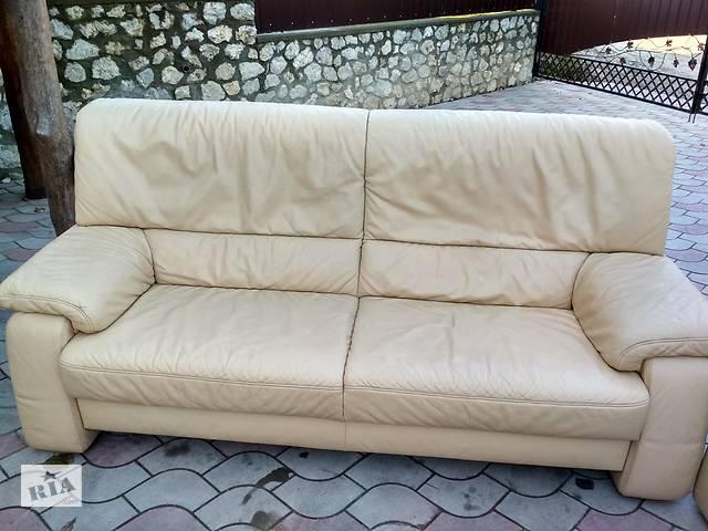продам Шкіряні дивани, кутки, крісла Європа б/у бу в Тернополі
