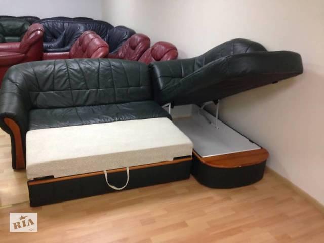 кожаные диваны бу раскладной диван мебель с германии мебель в