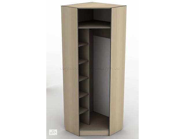 купить бу Кутовий шафа гардероб для одягу з дзеркалом Тиса ШОУ-1 ШхГхВ 700х700х2050 мм в Києві