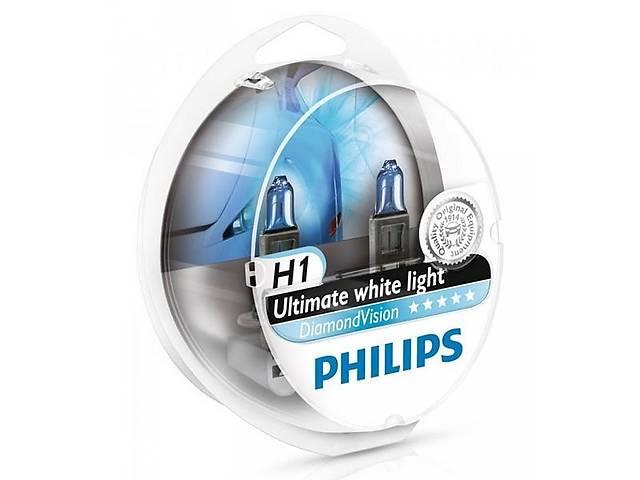 купить бу Галогенная лампа h1 12v 55w diamondvision (компл.) PHILIPS JAGGI,  Джагги в Киеве