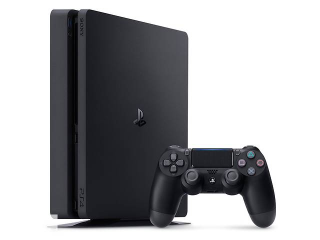 купить бу Игровая приставка Sony PlayStation 4 Slim (PS4 Slim) 1TB Black в Харкові