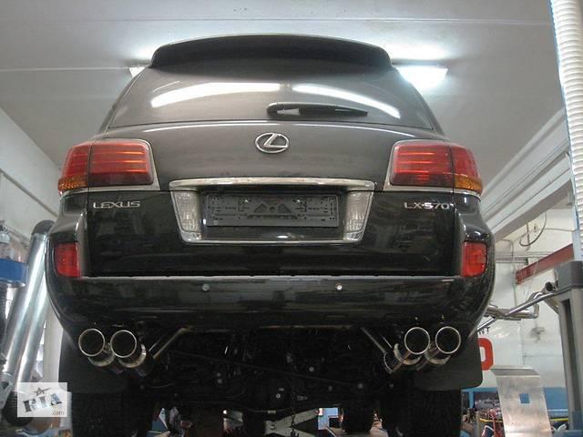 бу Выхлопная система  для Lexus LX 570 или Toyota LС 200 (GANADOR 4WD Vertex GD-126) в Одессе