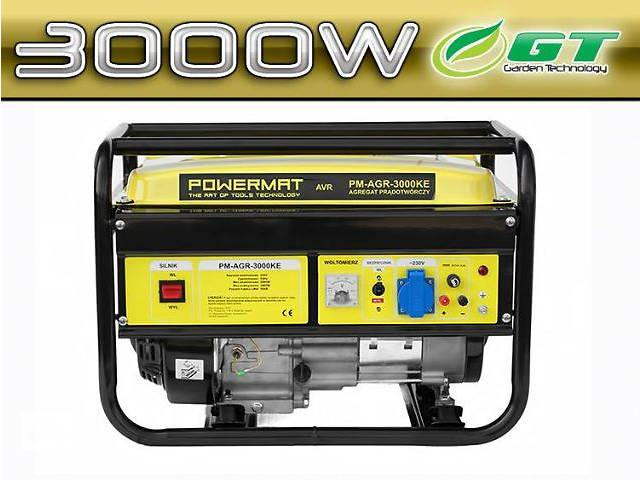 купить бу Генератор бензиновый POWERMAT 3 KVA в Жовкве