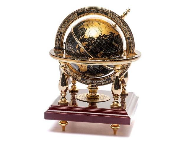 Глобус на подставке BST 170056 25 см золотой World- объявление о продаже  в Одессе