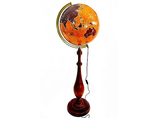 бу Глобус с подсветкой напольный 420 мм барокко парусники (рус.) BST 540168 в Одессе